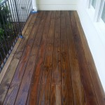 Front Porch Staining After