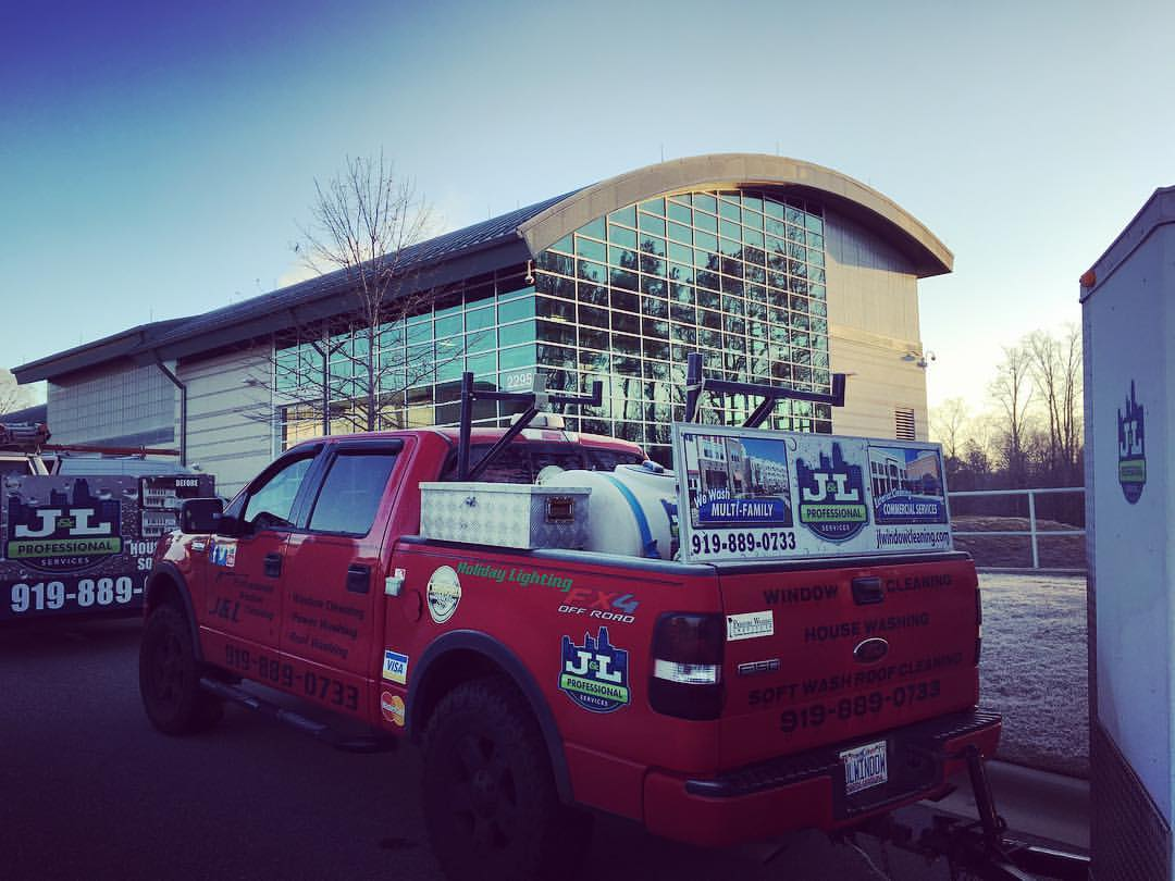 Commercial Cleaning Raleigh Power Washing