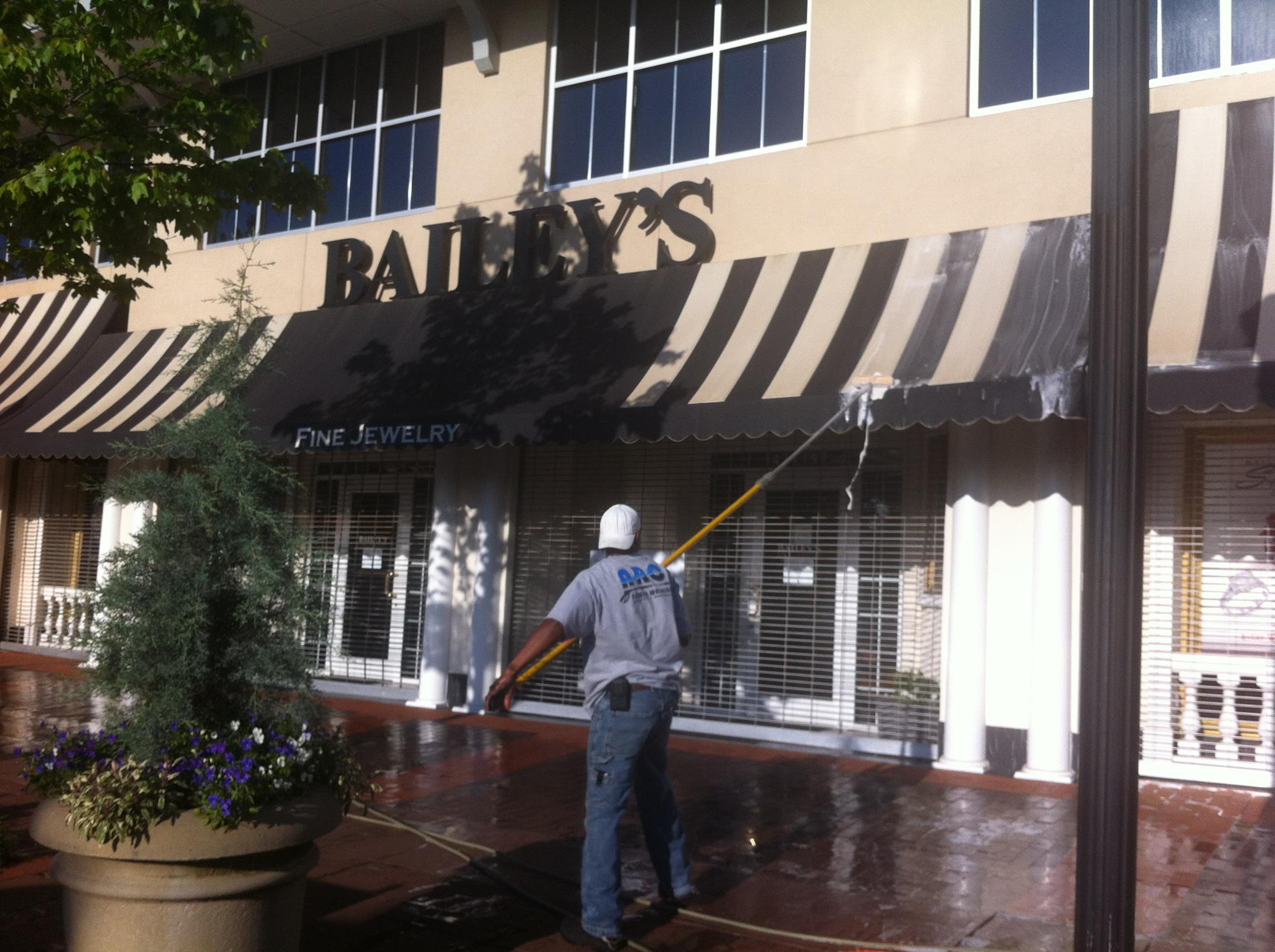 raleigh awning cleaning pressure washing raleigh