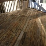 Deck Restoration During