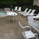 Pool Deck Cleaning in Apex
